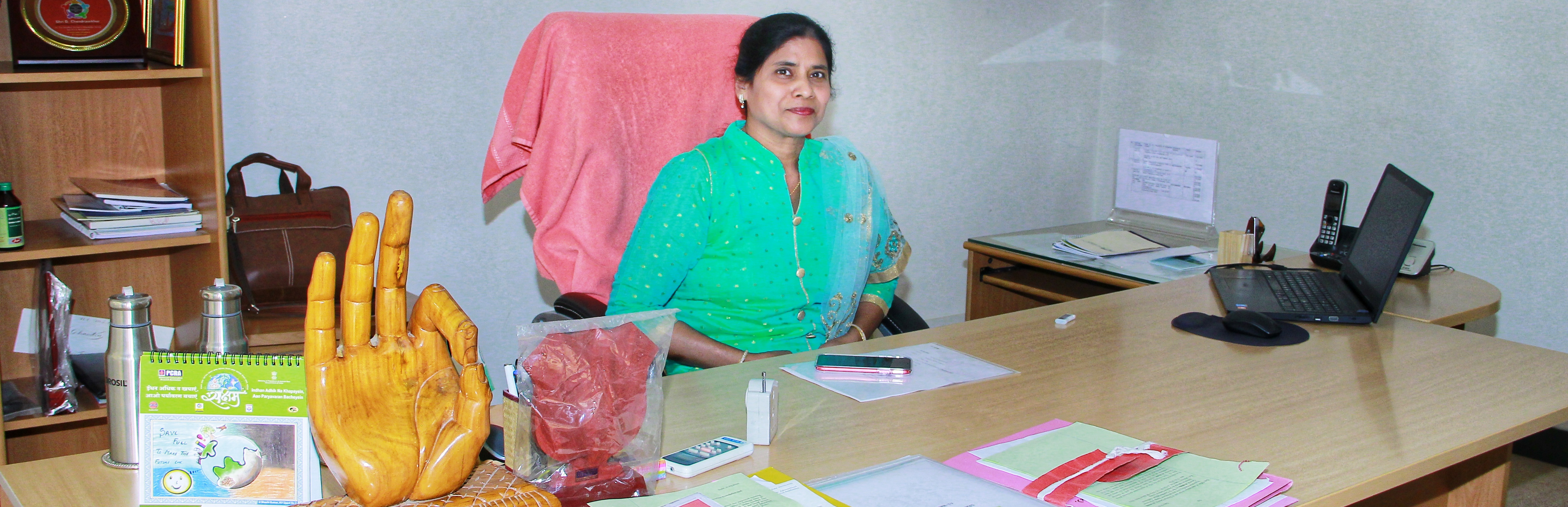 Ms. S. Glory Swarupa takes charge as Director General (DG) ni-msme